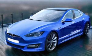 Картинка Tesla кузовной ремонт